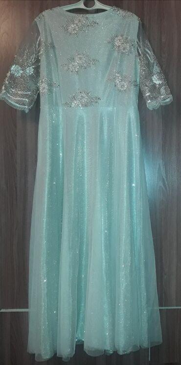 Продаю вечернее блестящее платье, серебряного цвета. Материал