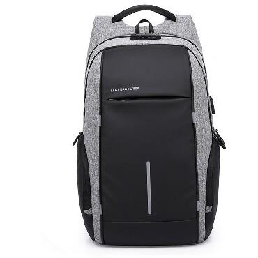 Рюкзак 15,6 KAKA 2215D серо-чёрный БишкекРюкзак имеет приятную