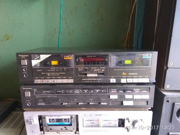 Двухкассетник дека. Technics rs-b33w. нужна профилактика. в Бишкек
