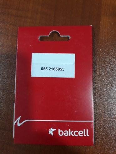 Bakı şəhərində Bakcell 055 2165955