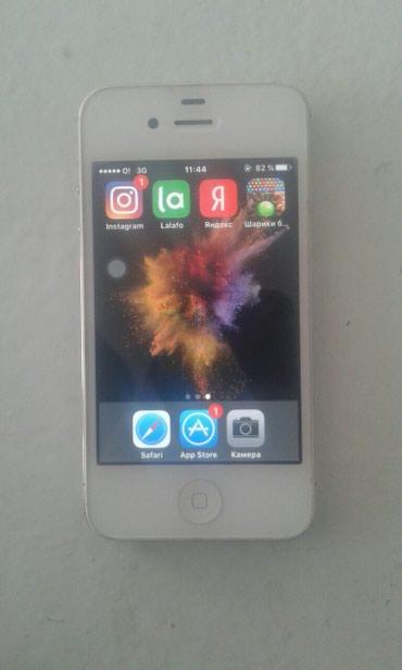 Айфон 4s хорошее сост.айклаут жок в Бишкек