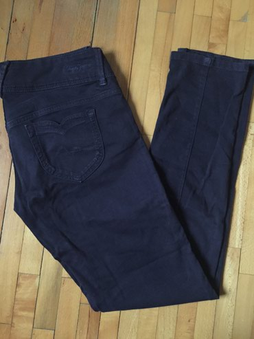 Pantalone-boja - Srbija: Pepe Jeans pantalone. Original. Prelepe. Boja ljubičasto-teget