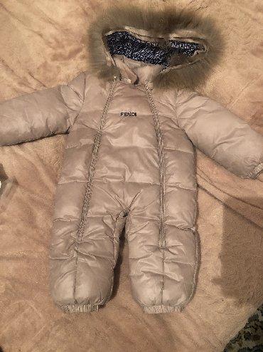 детские куртки комбинезоны в Кыргызстан: Б-у вещи:1)детский комбинезон до 1года одевался всего 2 раза, цена 100