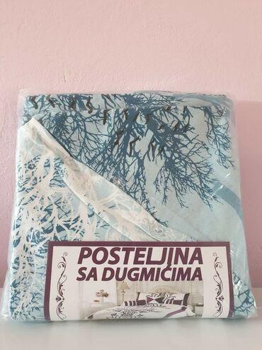 Kreveti - Srbija: PAMUCNA POSTELJINA ZA SINGL KREVETDIMENZIJE :1 JASTUCNICA