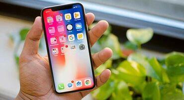 iphone под подушкой в Кыргызстан: Б/У iPhone X 64 ГБ Черный