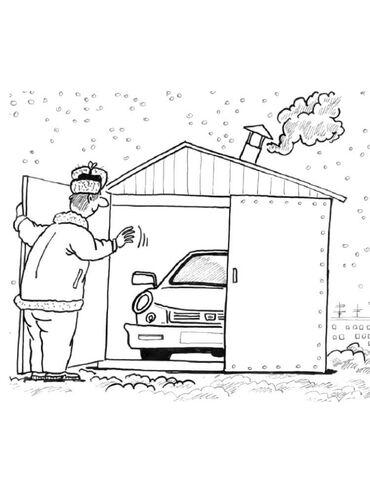 Недвижимость - Кара-Балта: Продаю гараж в 40-лет за линией. Размер 6х4 м.Новая кровля крыши