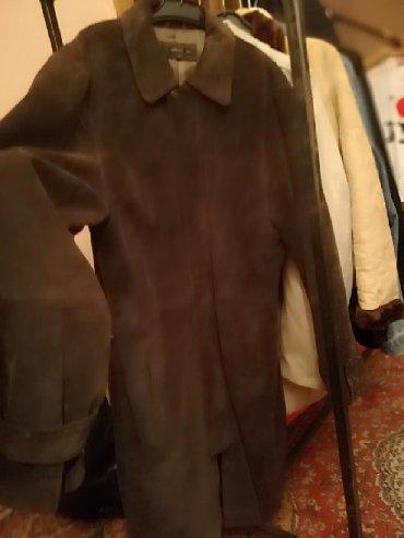 Muski mantili - Srbija: Muška kožna jakna, mantil Za malo sitnije muškarce S broj može i M