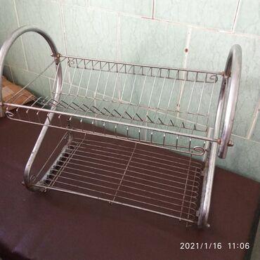 подставка для посуды в Кыргызстан: Подставка/сушка для посуды. Состояние хорошее. Район н-аларча