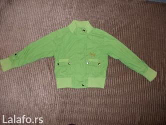 Decije-jakne - Srbija: Vrlo lepa, prijatna i kvalitetna jaknica vel 146pogledajte i ostalo