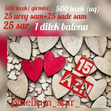 Fotoda gorduyunuz dest cemi 15 azn 14 fevrala ozel lecekler sunidi! в Bakı