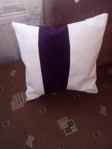 Ostalo za kuću   Cuprija: Jastuci meblo i eko koza kombinacija