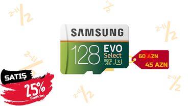 "lancer - Azərbaycan: Micro SD kart ""Samsung Evo 128GB""Samsungun orginal micro sd"