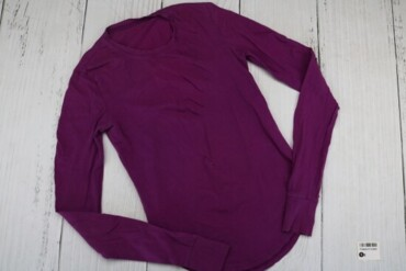 Товар: Кофта женская, фиолетовая, 12360. Состояние: Хорошее. Цвет