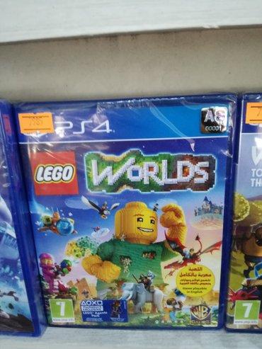 Lego worlds в Баку