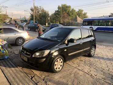 автомобиль hyundai getz в Кыргызстан: Hyundai Getz 1.1 л. 2007 | 206000 км