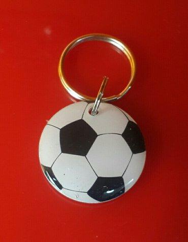 копия чип ключа  для подъезда в виде футбольного  мяча. в Бишкек
