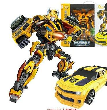 Игрушки в Азербайджан: Transformes Bumblebee ve Optimus Prime