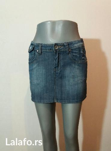 Teksas suknjica,uvek aktuelna i u trendu... - Beograd - slika 5