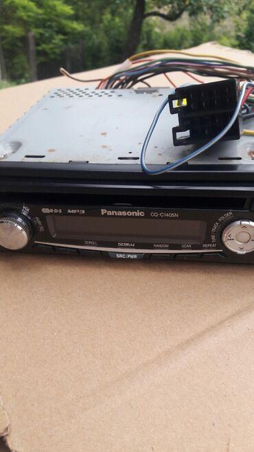 Audio oprema za auto   Srbija: Prodajem panasonic radio cd za 2500 u odlicnom stanju