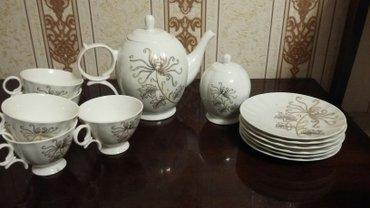 Сервиз новый(не хватает одной чашки и молочника) в Бишкек