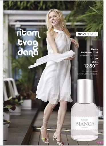 Naša Bianca ima novo ruho.Možda nešto skromnija ambalaža od