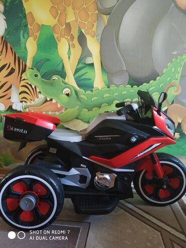 Автоэлектроника - Кыргызстан: Продаю б/у детский электромотоцикл. В хорошем состоянии, имеется