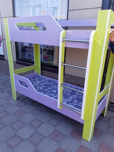 Другие кровати в Кыргызстан: 2х ярусный кровать из российского ламинанта