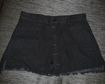 Джинсовая мини юбка.Внутри шорты из плотного материала.Брала в neko.В