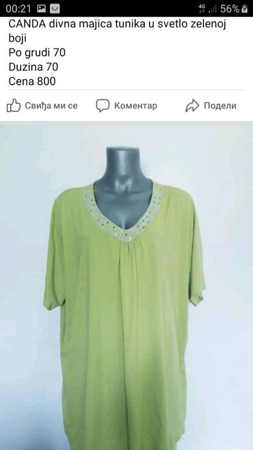 Divna kivi zelena majica