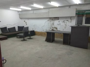 Сдаю помещение под склад или офис 45квадрат центр города , Подвал ! в Бишкек