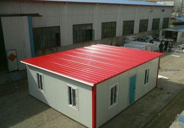 гараж из сендвич панелей в Кыргызстан: Сэндвич - панели. Строительство ангаров, складов, холодильников под