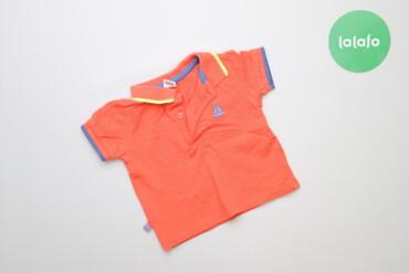 Топы и рубашки - Синий - Киев: Дитяча футболка поло Lc Waikiki, вік 3-6 міс., зріст 62-68 см    Довжи