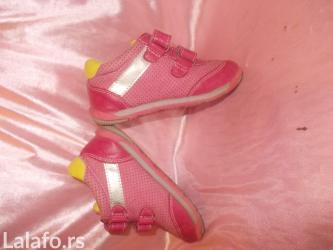 Dečija odeća i obuća - Prokuplje: Prelepe i kvalitetne patikice br 25 anatomski ulozak lake za obuvanje