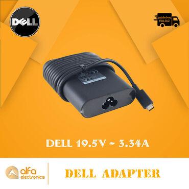 Dell 19.5V 2.1A 3.0 mm Adapter A-Class - 16 AznDell 19.5V-2.31A 5.0 mm