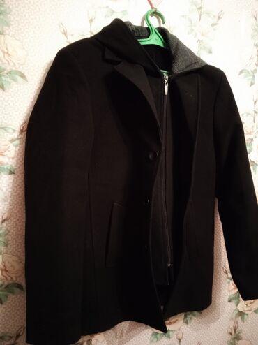 черное кружевное платье в пол в Кыргызстан: Мужское пальто  Со снимающимся капюшоном •Стильное, элегантное полупал