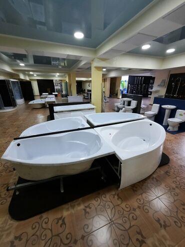 Ванна обрезанная Изабель правая левая (170х100) в комплекте с