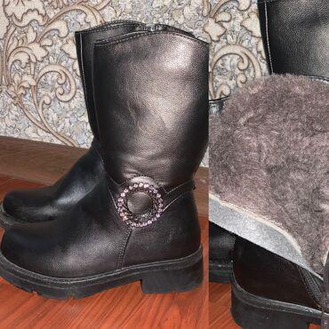 Продаю зимние сапоги на девочку,29 размерсостояние новыходевались