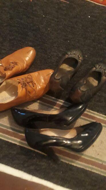 Коричнывый кожа 38размер эки туфли 36 размер