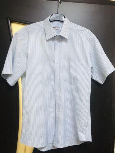 Рубашка мужская, куплена в Дубаи за 1900, 2 раза одета, размер