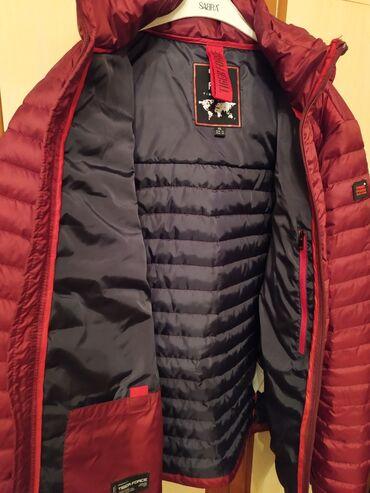 бренд офисные платье в Кыргызстан: Продаю куртку бордовый бренд TigerForce