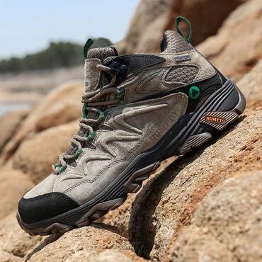 13975 объявлений: Термо ботинки Защита от влаги НЕСКОЛЬЗЯЩАЯ подошва фиксируют
