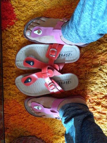 Anatomske papuce novooooo,prelepo stoje vidi slike broj 37,vidi moje - Sombor