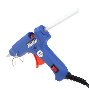 Instrumenti | Pancevo: Pištolj za plastiku, lemilica, varilica, 20 W + četiri patrone za