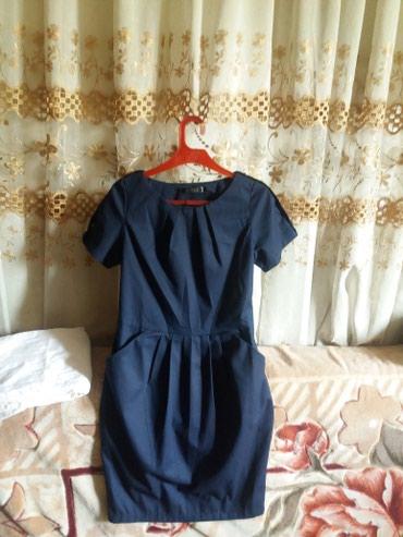 Новое темно синее платье.250сом.42 в Бишкек