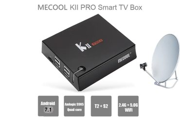 tüner - Azərbaycan: K2 PRO 4K ANDROİD 7.1 Tüner1.Android TV Box + DVB-T2 + DVB-S2