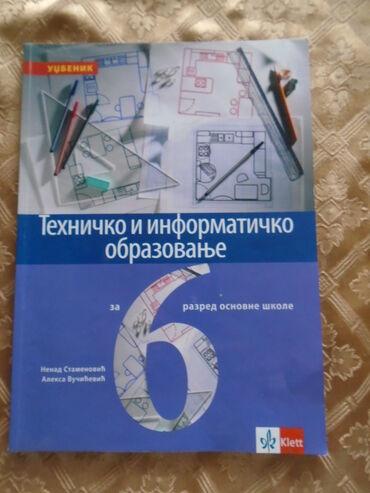 Tehničko i informatičko obrazovanje za 6. raszred, izdavač Kllet