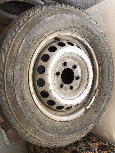 Срочно продаю диски от sprinter спринтерС резиной235/65/16 лысая на