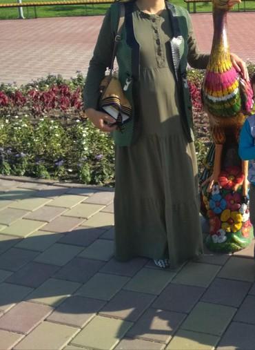 черное длинное платье в Кыргызстан: Платье зеленного цвета длинная состояние отличное за 850; турецкая ;