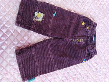Детский мир - Тынчтык: Штанишки вельветовые с подкладом длина 45см, 120сом