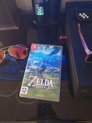 Nintendo Switch - Кыргызстан: Продам игру Zelda. Nintendo Switch. На русском языке